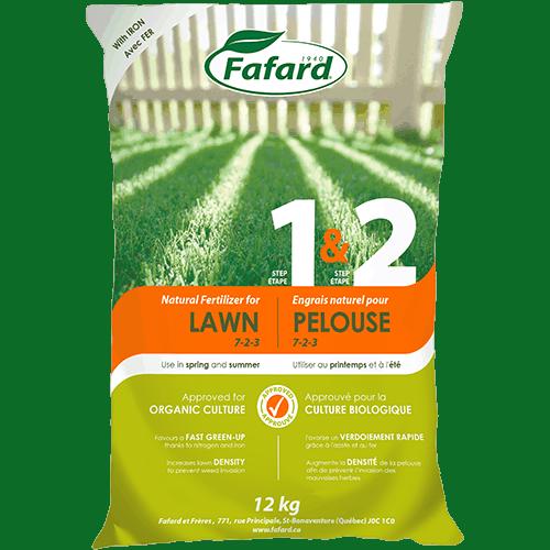 Natural Fertilizer For Lawn Step 1 2 Spring Summer Scotts Fafard